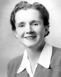 Rachel Carson's official Fish and Wildlife Service photo, circa 1940