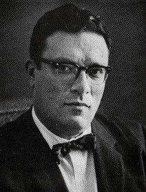 Isaac Asimov in 1956, shortly after writing Pebble in the Sky
