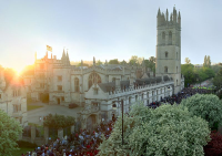 Magdalen College, Oxford, where Lewis was a fellow while many of these letters were written